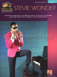 Piano Play Along 111: Stevie Wonder (Book & CD)