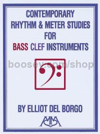 Contemporary Rhythm and Meter Studies for bass-clef instruments