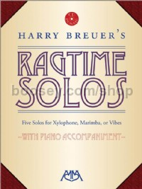 Harry Breuer's Ragtime Solos for xylophone (+ CD)
