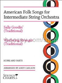 American Folk Songs for Intermediate String Orchestra (Score & Parts)