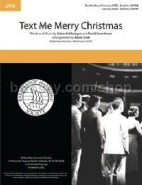 Text Me Merry Christmas (SATB)