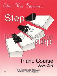 Step by Step Piano Course - Book 1 (+ CD)