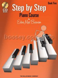 Step By Step Piano Course - Book 5 (+ CD)