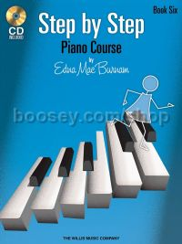 Step By Step Piano Course - Book 6 (+ CD)