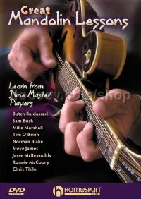 Great Mandolin Lessons Learn From 9 Masters DVD