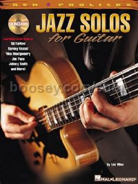 Jazz Solos For guitar (Book & CD)