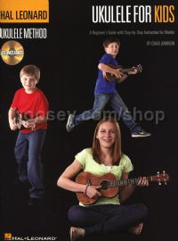 Ukulele For Kids (Book & CD)