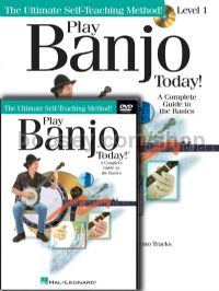 Play Banjo Today Level 1 Beginner's Pack (Bk + CD + DVD)