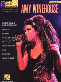 Pro Vocal 55 Amy Winehouse (Book & CD)
