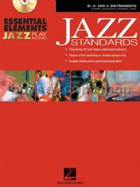 Essential Elements Jazz Play-Along Jazz Standards B-flat, E-flat and C Instruments
