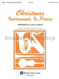 Christmas Instruments in Praise for alto-clef instruments