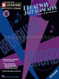 Broadway Jazz Standards (Jazz Play-Along with CD)