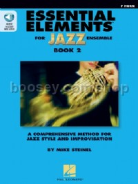 Essential Elements for Jazz Ensemble Book 2 (F Horn)