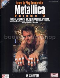Learn To Play Drums With Metallica vol.2 (Book & CD)