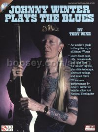 Johnny Winter Plays The Blues - Guitar Tab (Book & CD)