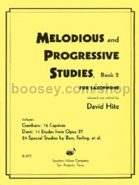Melodious and Progressive Studies, Book 2 for saxophone