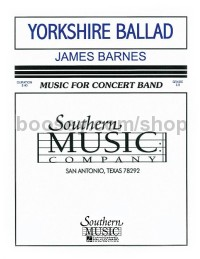Yorkshire Ballad for concert band (score & parts)