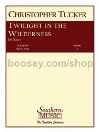 Twilight in the Wilderness for concert band (set of parts)