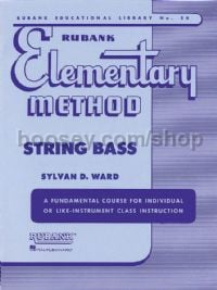 Rubank Elementary Method for double bass