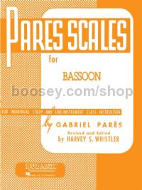 Rubank Pares Scales for bassoon