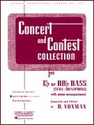 Concert & Contest Collection Eb/bb Bass Piano Acc