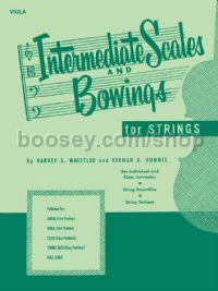 Intermediate Scales and Bowings - viola