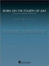 Born On The Fouth Of July (John Williams Signature Series) (Orchestral Score & Parts)