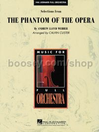 The Phantom of the Opera - Selections (Hal Leonard Full Orchestra)