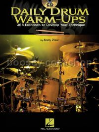 Daily Warm Ups 365 Exercises for Drums (Book & CD)