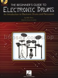 Beginner's Guide To Electronic Drums - (Book & CD)