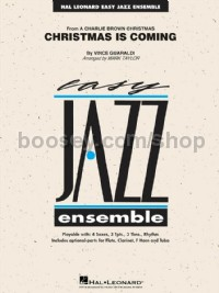 Christmas Is Coming (Hal Leonard Easy Jazz Ensemble Score & Parts)
