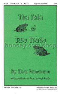 The Tale of Two Toads for 2-part choir