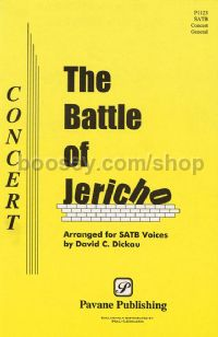 The Battle of Jericho for SATB choir