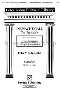 The Nightingale for SATB choir