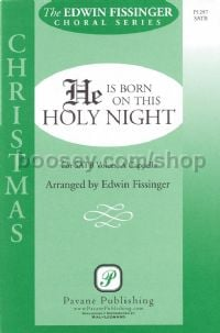 He is Born on this Holy Night for SATB choir