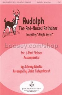 Rudolph the Red-Nosed Reindeer for 2-part choir