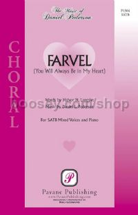 Farvel for SATB choir