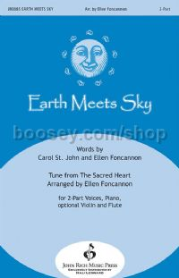 Earth Meets Sky for 2-part choir