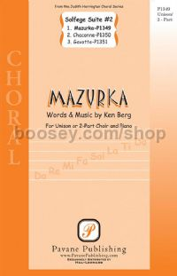 Mazurka - unison or 2-part choir