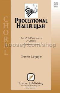 Processional Hallelujah for SATB choir