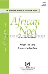 African Noel for SATB choir