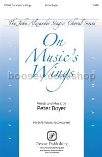 On Music's Wings for SATB choir