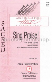 Sing Praise! for SATB choir
