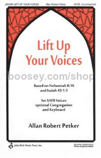 Lift Up Your Voices for SATB choir