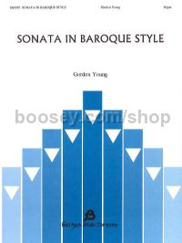 Sonata in Baroque Style for organ