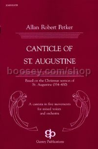 Canticle of St Augustine for SATB choir