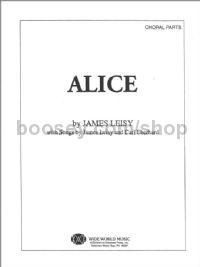 Alice for 2-part voices