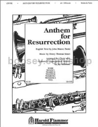 Anthem for Resurrection - brass accompaniment (set of parts)