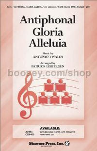 Antiphonal Gloria Alleluia - SATB choir