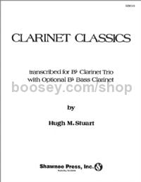 Clarinet Classics for 3 clarinets (with opt. bass clarinet)
